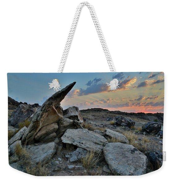 Sunrise In Red Rock Valley Weekender Tote Bag