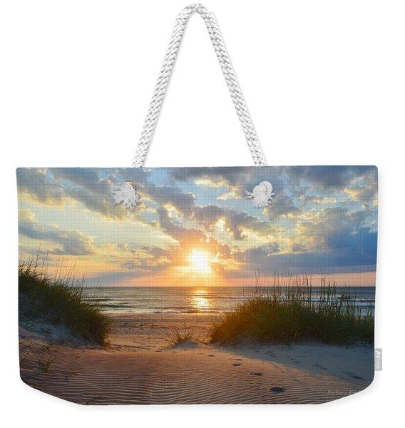 Sunrise In South Nags Head Weekender Tote Bag