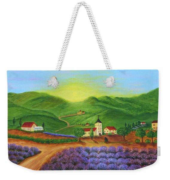 Sunrise In Tuscany Weekender Tote Bag