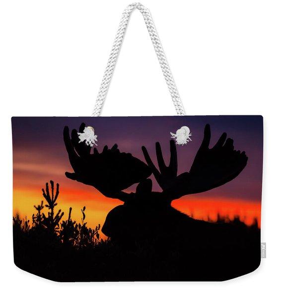 Sunrise King Weekender Tote Bag