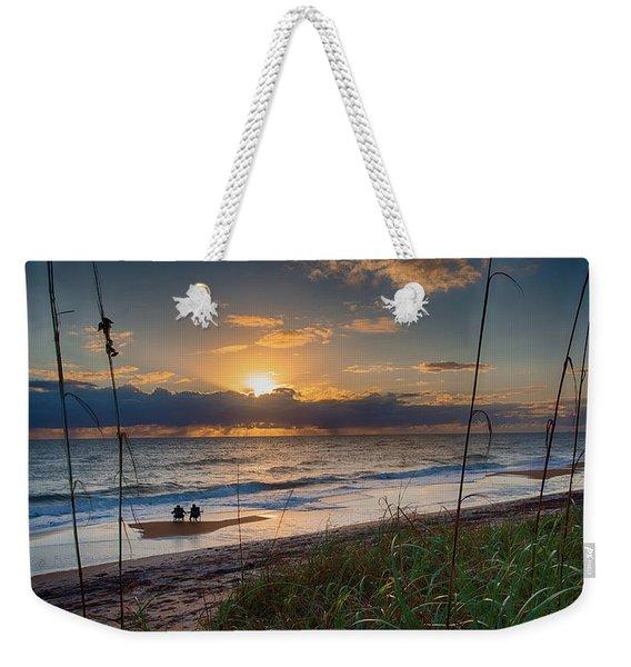 Sunrise Love Weekender Tote Bag