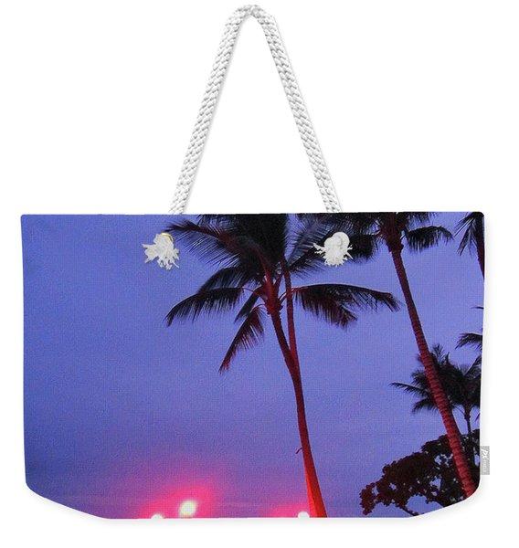 Sunrise Ocean Pathway Weekender Tote Bag