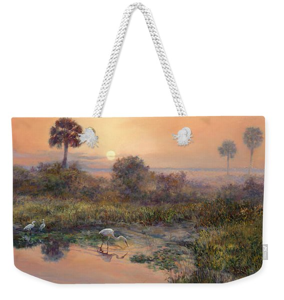 Sunrise Okeechobee Breakfast Club  Weekender Tote Bag
