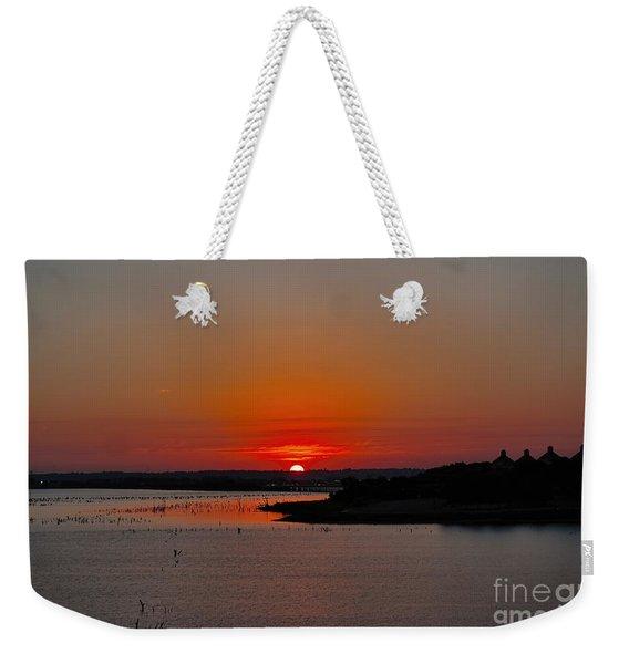 Sunrise On Lake Ray Hubbard Weekender Tote Bag