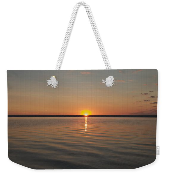 Sunrise On Seneca Lake Weekender Tote Bag