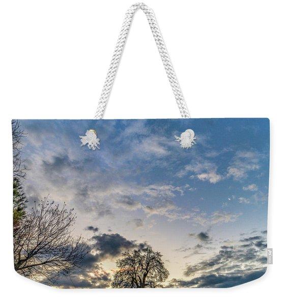 Sunrise On The Back Hill Weekender Tote Bag