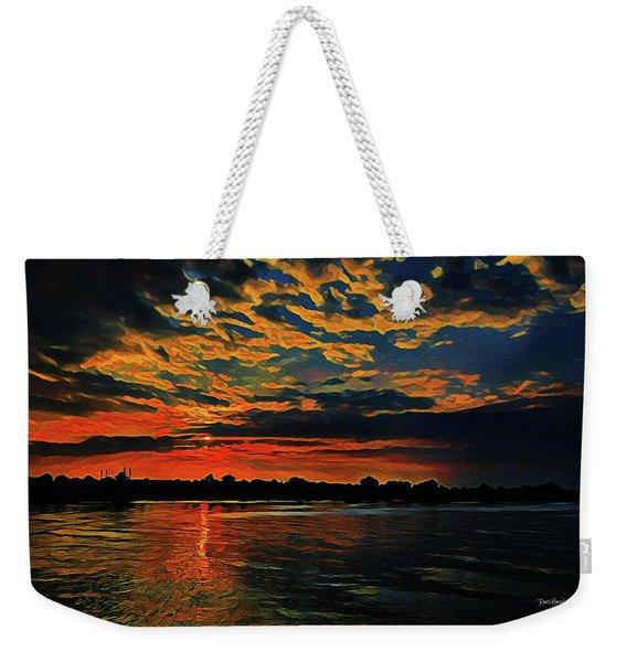 Sunrise On The Blue Danube Weekender Tote Bag