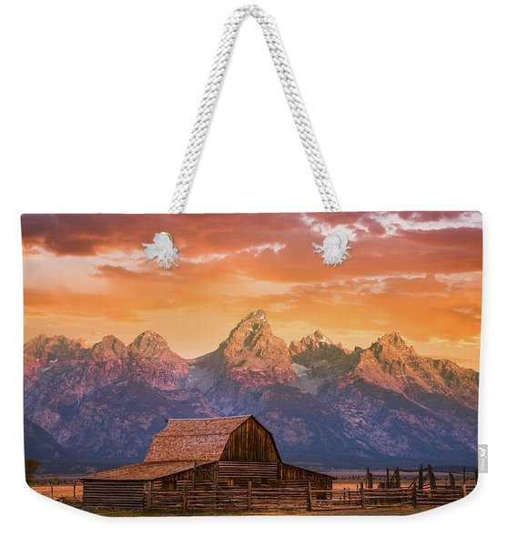 Sunrise On The Ranch Weekender Tote Bag