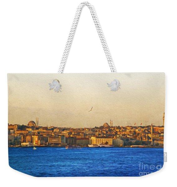 Sunrise Over Istanbul Weekender Tote Bag