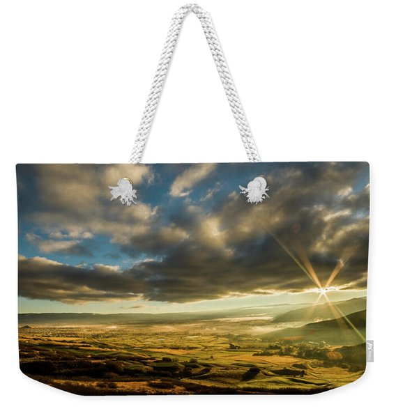 Sunrise Over The Heber Valley Weekender Tote Bag