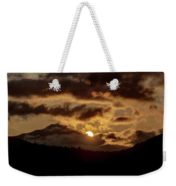 Sunrise Over The Peak Weekender Tote Bag