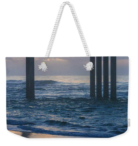 Sunrise Over The Pier Weekender Tote Bag