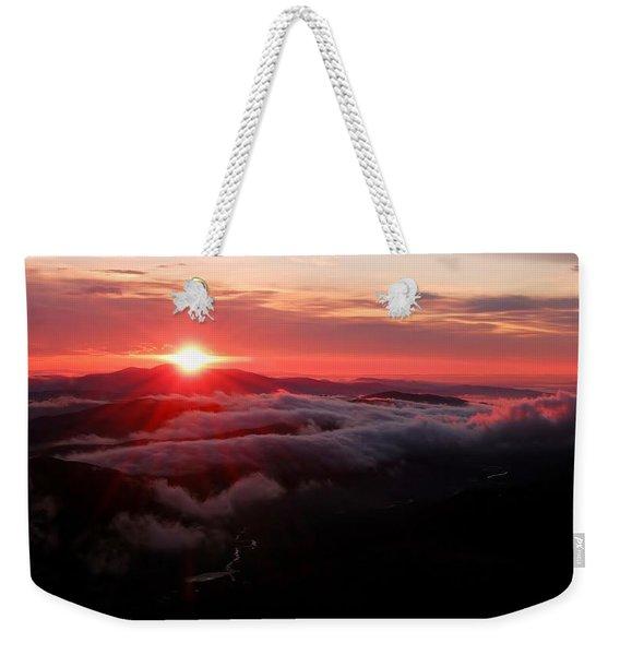 Sunrise Over Wyvis Weekender Tote Bag
