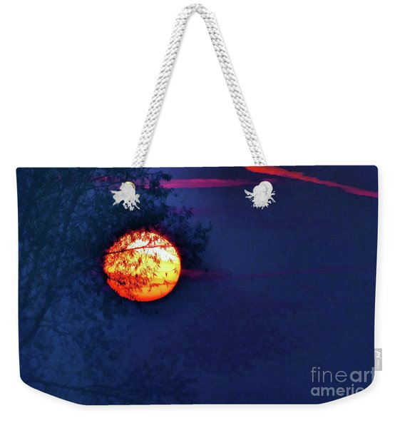 Sunrise Paint Weekender Tote Bag