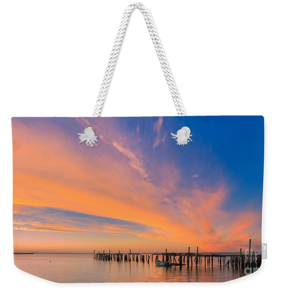 Sunrise Provincetown, Cape Cod, Massachusetts Weekender Tote Bag