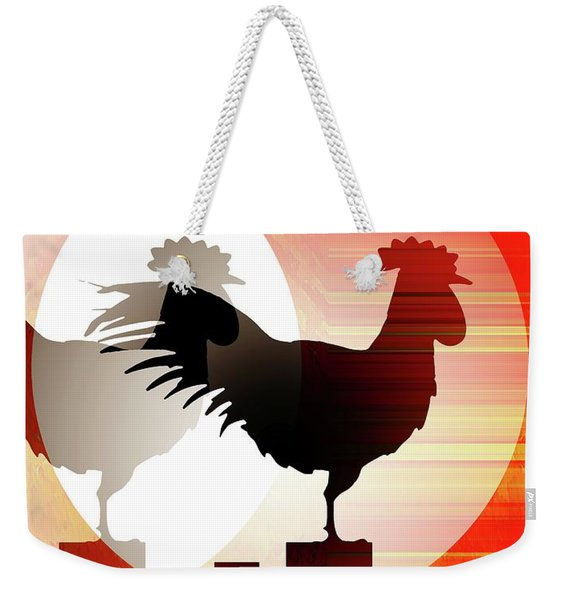 Sunrise Reflection Weekender Tote Bag