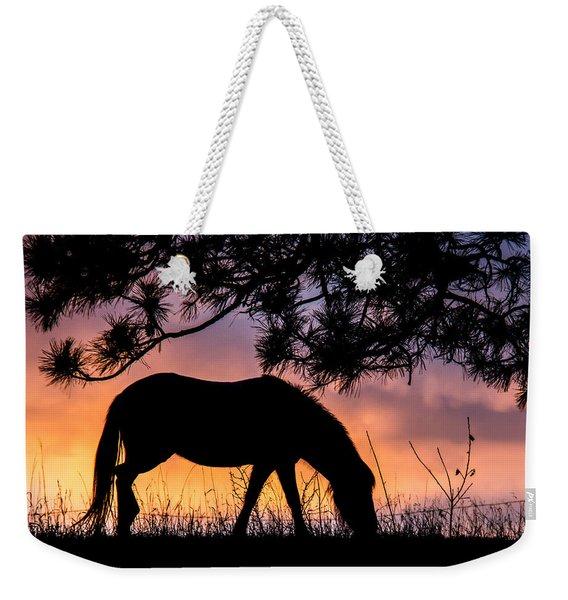Sunrise Silhouette Weekender Tote Bag