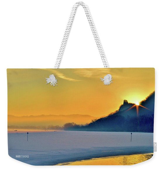 Sunrise Sparkle Weekender Tote Bag