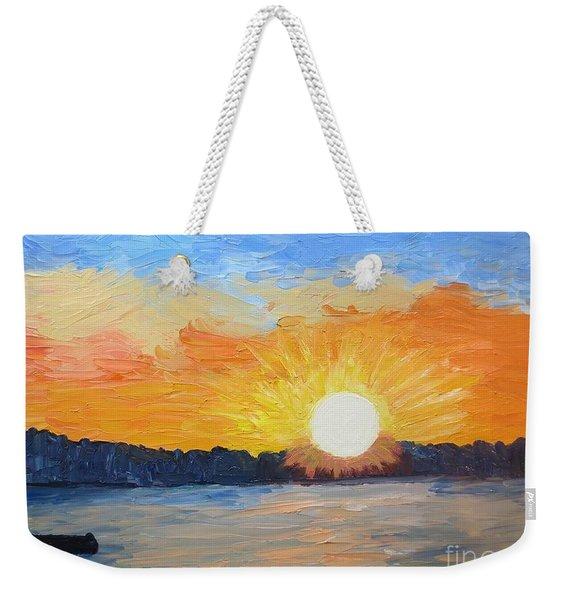 Sunrise Sensation Weekender Tote Bag