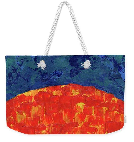 Sunrise Sunset 2 Weekender Tote Bag