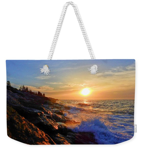 Sunrise Surf Weekender Tote Bag