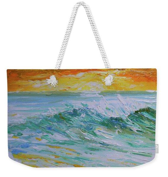 Sunrise Surf Weekender Tote Bag