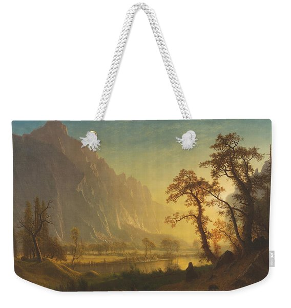 Sunrise, Yosemite Valley Weekender Tote Bag