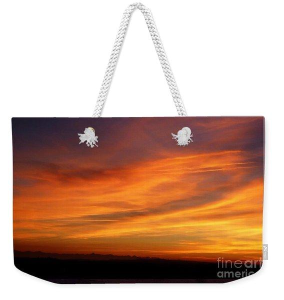 Sunset 10 Weekender Tote Bag