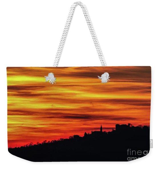 Sunset 11 Weekender Tote Bag