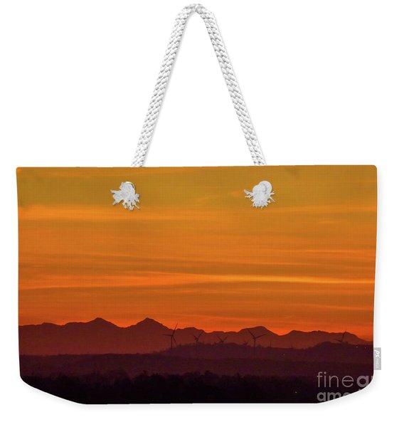 Sunset 8 Weekender Tote Bag