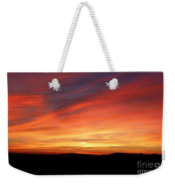 Sunset 9 Weekender Tote Bag