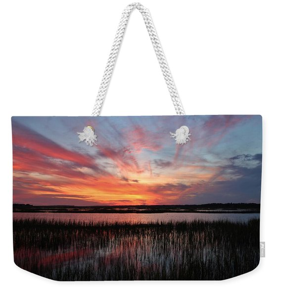Sunset And Reflections 2 Weekender Tote Bag