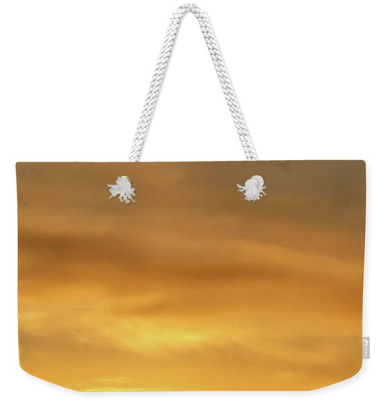 Sunset And Windmill 14 Weekender Tote Bag