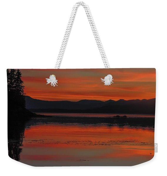 Sunset At Brothers Islands Weekender Tote Bag