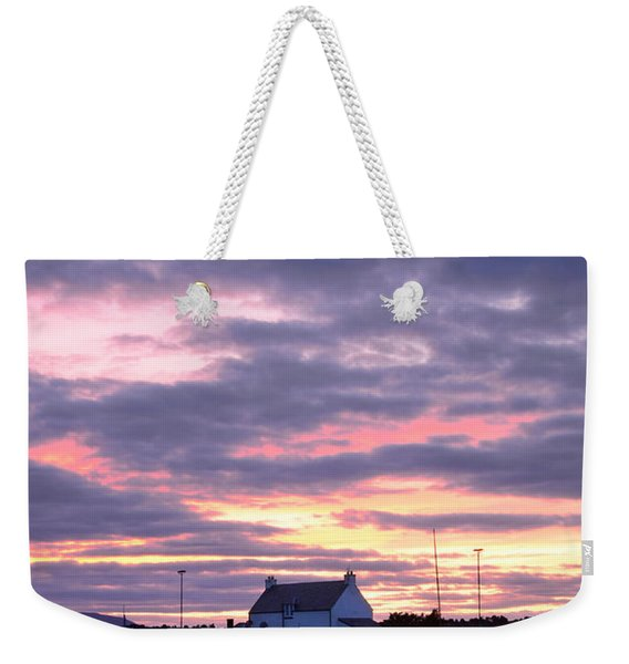 Sunset At Clachnaharry Weekender Tote Bag
