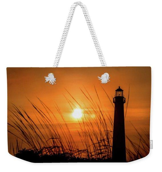 Sunset At Cm Lighthouse Weekender Tote Bag