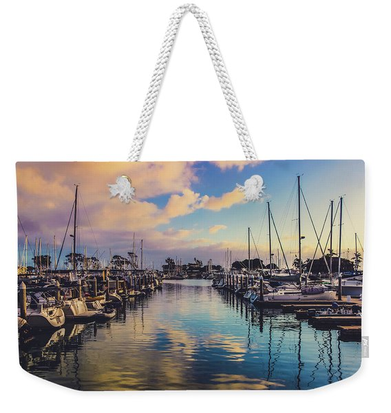 Sunset At Dana Point Harbor Weekender Tote Bag