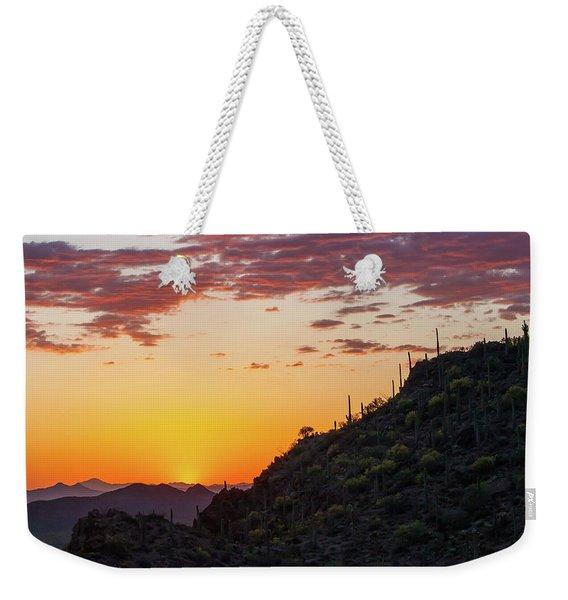 Sunset At Gate's Pass Weekender Tote Bag