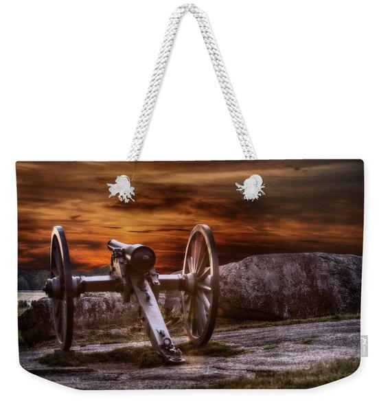 Sunset At Gettysburg Weekender Tote Bag