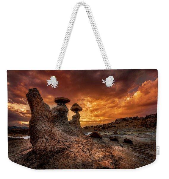 Sunset At Goblin Valley Weekender Tote Bag