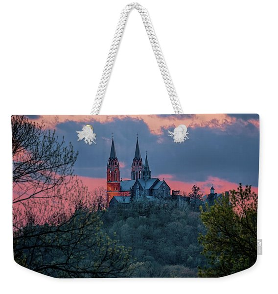 Sunset At Holy Hill Weekender Tote Bag