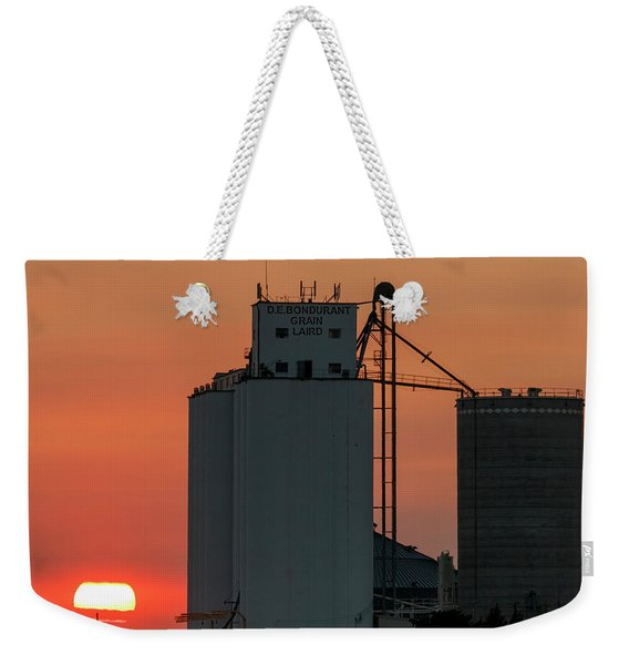 Sunset At Laird -01 Weekender Tote Bag