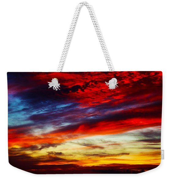 Sunset At Louie's Weekender Tote Bag