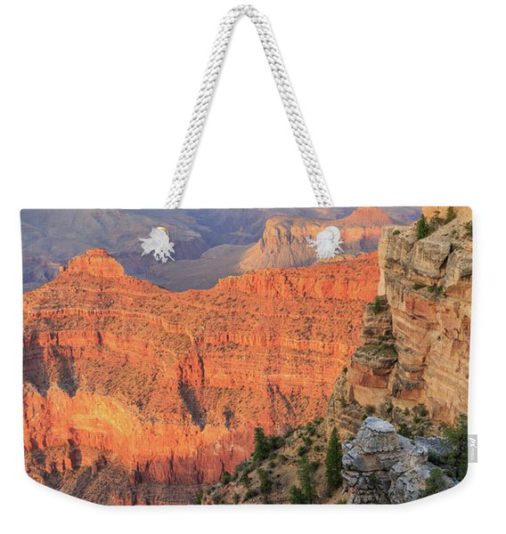 Sunset At Mather Point Weekender Tote Bag
