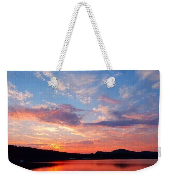 Sunset At Ministers Island Weekender Tote Bag