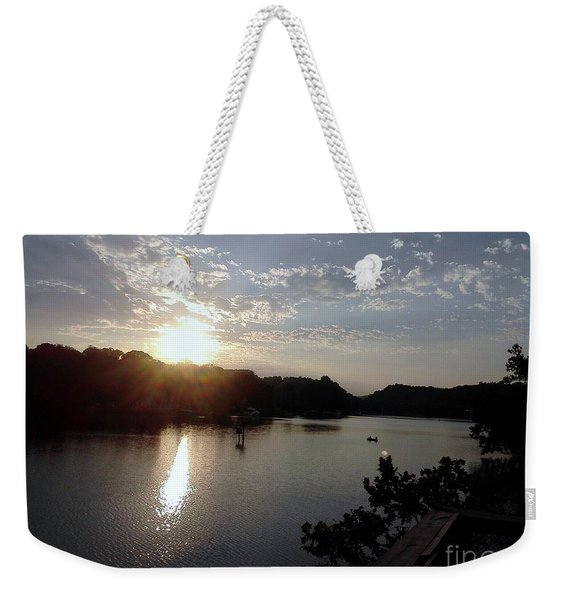 Sunset At Occoquan Weekender Tote Bag