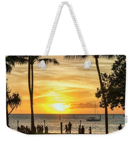 Sunset At Old Lahina Luau #2 Weekender Tote Bag