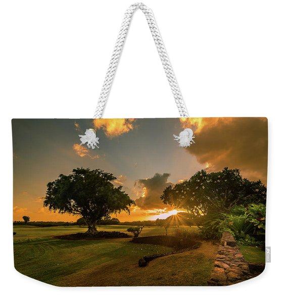 Sunset At Paia Weekender Tote Bag