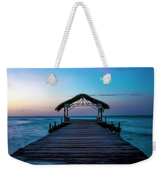 Weekender Tote Bag featuring the photograph Sunset At Pigeon Point by Rachel Lee Young