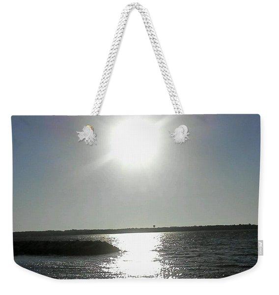 Sunset At Solomons Island Md Weekender Tote Bag